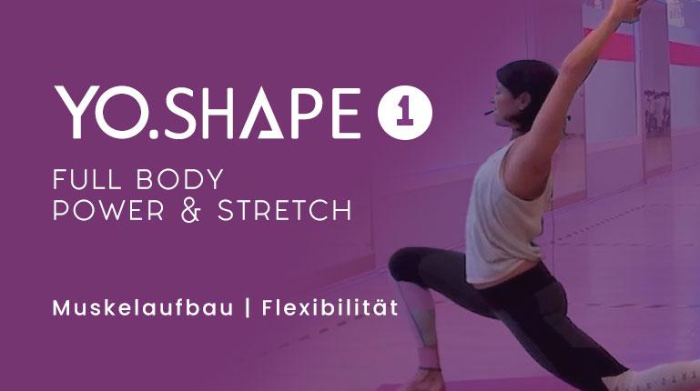 Yo.Shape – Full Body Workout